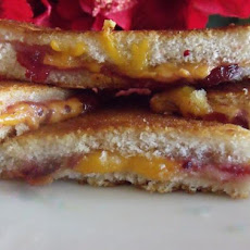 Farmhouse Cheddar Cheese and Cranberry Croque Monsieur Toasties