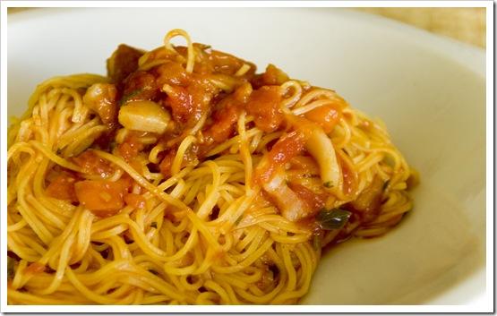 Pasta Campofilone sugo