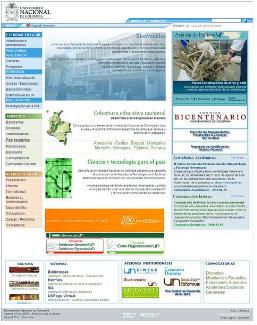 Página Oficial Universidad Nacional de Colombia Unal UN La Nacho Vista Previa Thumbnail HomePage