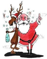 Mensaje Postal en Facebook Feliz Navidad