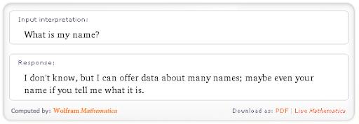 Busqueda en Wolfram Alpha Whats Is My Name Cual es Mi Nombre Blog de la Nacho