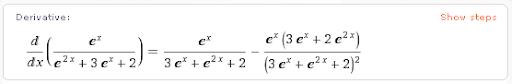 Calculo de Derivadas por Wolfram Alpha