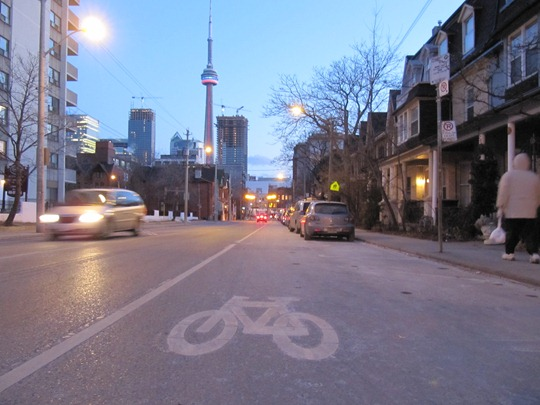 Bike Lane Toronto