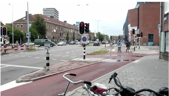 Netherlands road junction