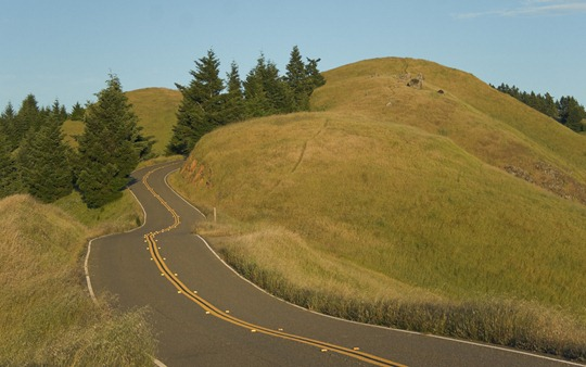 Car Commercial - Bolinas Ridge Rd.