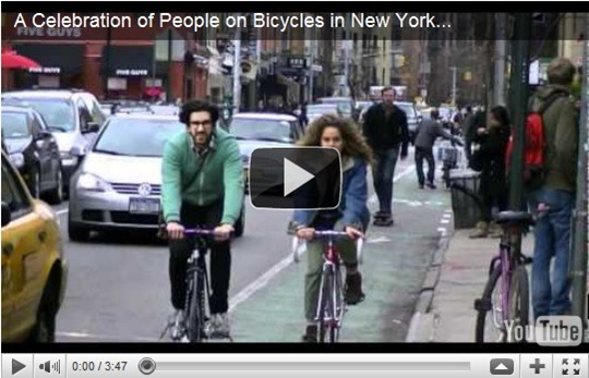 A Celebration of People on Bicycles in New York City
