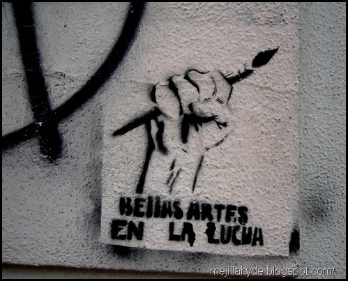Bellas Artes, graffiti, Buenos Aires