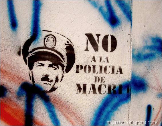 Policía de Macri