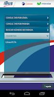 Screenshot of iBus Cutcsa