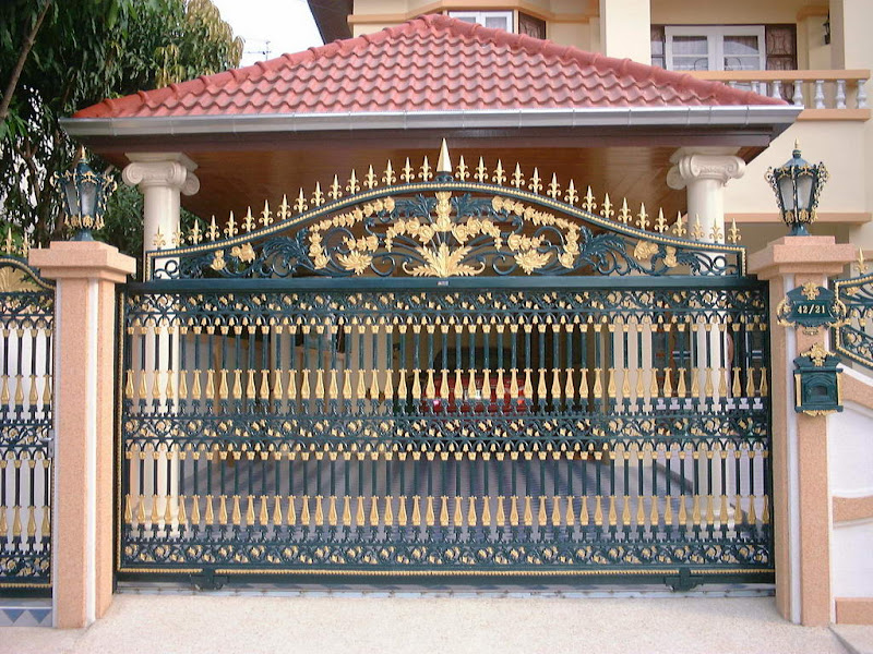 Iron gates design gallery - 10 Images - Kerala home design ...