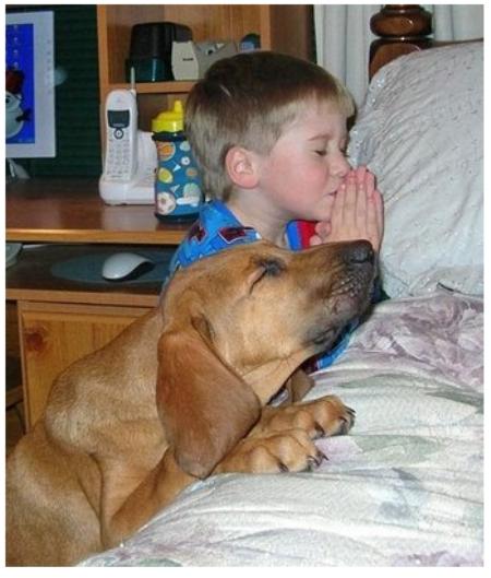 Mācies lūgt Dievu