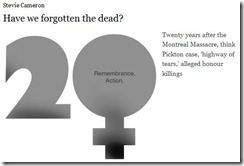 have we forgotten the dead