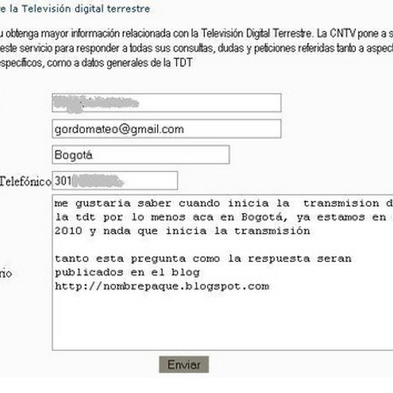 Y la TDT en Colombia Qué?