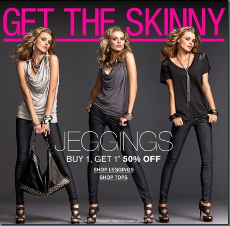 Jeggings Email Ad