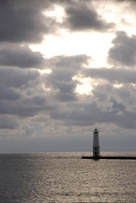 Frankfort, MI lighthouse