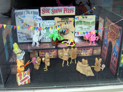 Side Show Peeps - window display - Chicago
