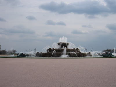 water fountain, grant park, chicago