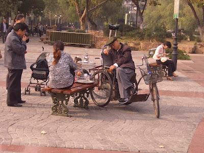 Napping in Nanjing