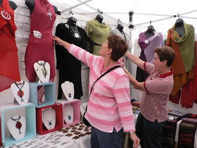 Millbrae Art & Wine Festival - handmade clothes
