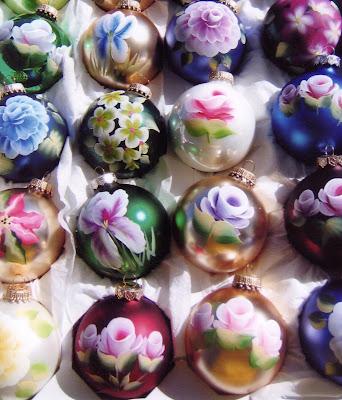Millbrae Art & Wine Festival - Mitchell Handpainted Ornaments