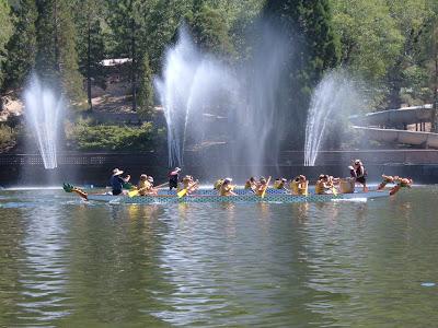 Chinese Dragon Boat Racing, San Bernardino Parks