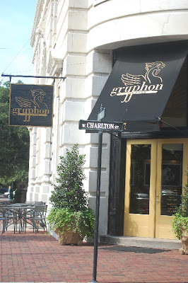 Gryphon Tea Room, Savannah, Georgia