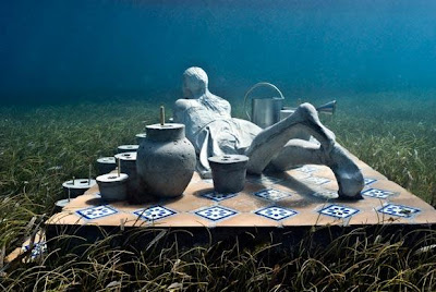 Jason deCaires Taylor - the Gardener