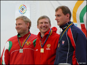 Mikhail Nestruev won air pistol event