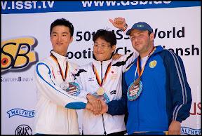 Photo: LEE Daemyung (KOR), MATSUDA Tomoyuki (JPN), PODLESNYY Vyacheslav (KAZ)
