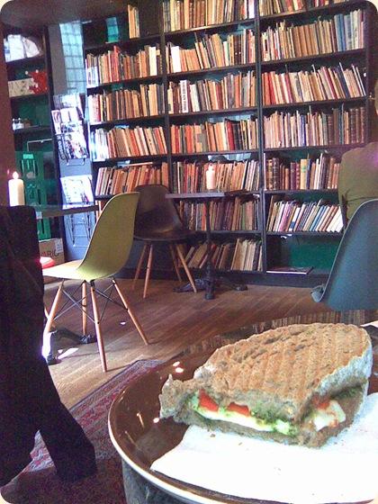 Sandwich i Sigfreds Kaffebar