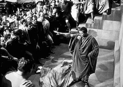a contrast of effects between the speeches of brutus and mark antony The effects of the speeches of brutus and antony essay  compare and contrast of mark antony and brutus's funeral speeches in the classic shakespeare play,.