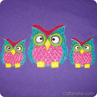 Painted owlies tute 4