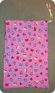 cupcake apron bag