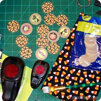 memory game Halloween set
