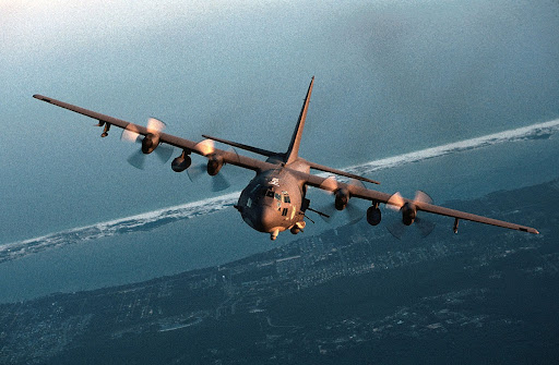 The AC 130 gunship s primary