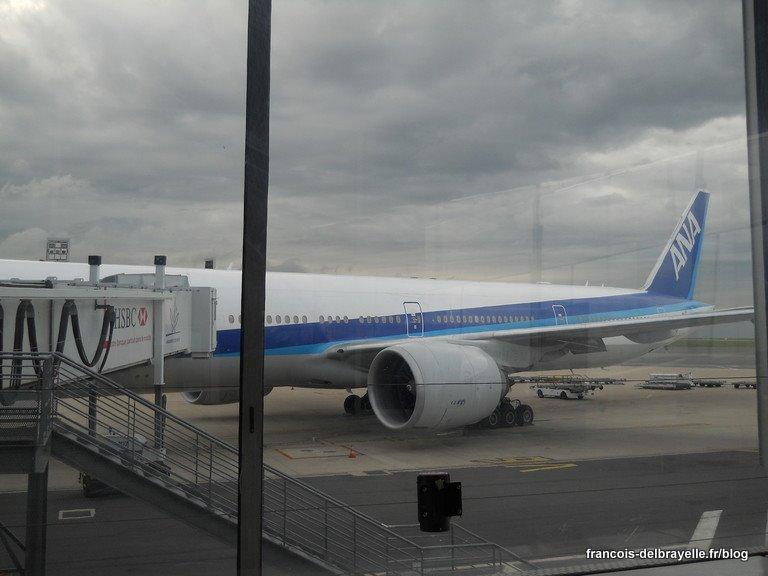 Arrière de l'avion