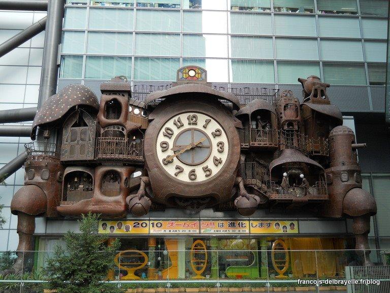 Miyazaki's Big Clock