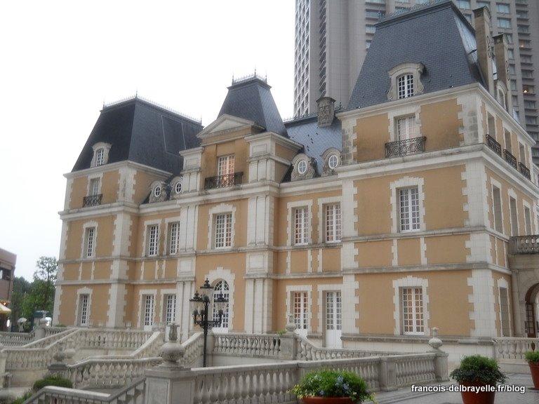 Château de Moulinsart à Tokyo