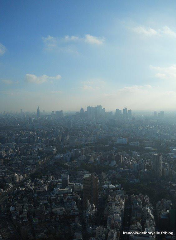 Vue depuis le Sunshine 60 - Shinjuku