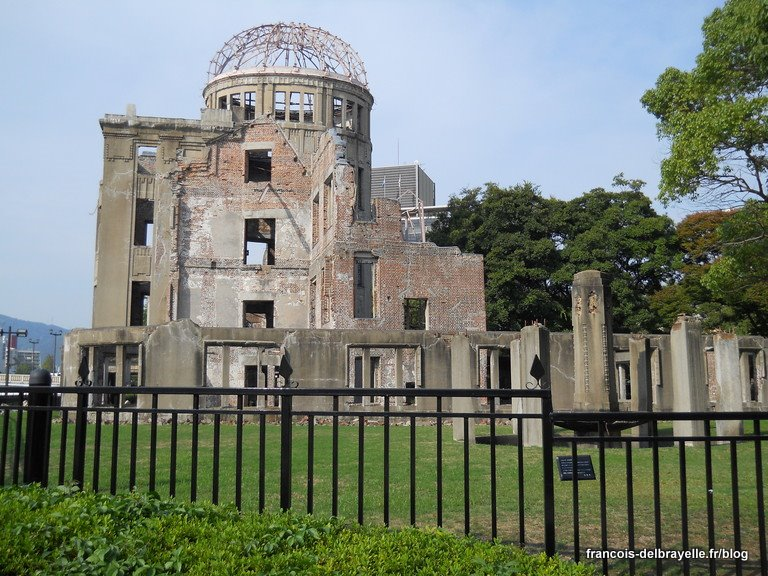 Dôme de la bombe atomique à Hiroshima