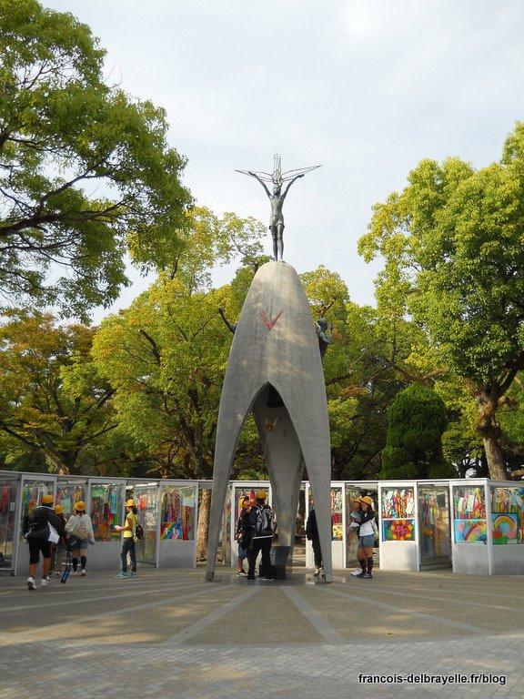 Parc du mémorial pour la paix - Monument des enfants pour la paix