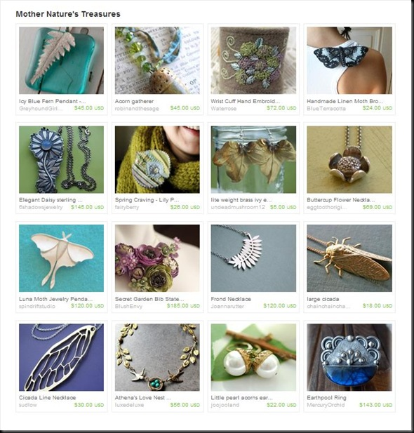 MOTHER NATURE'S TREASURES TREASURY