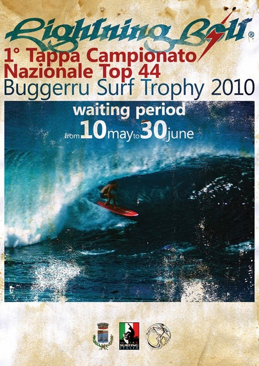 E-FLYER Buggerru surf trophy 2010 Version A