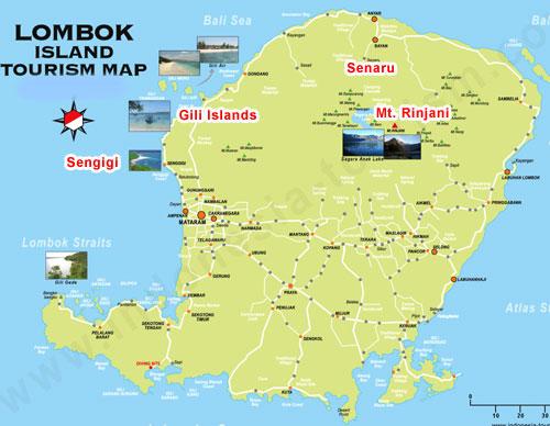 خريطة لومبوك