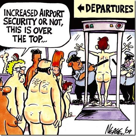 Airline Departure Gate