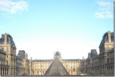 Louvre front