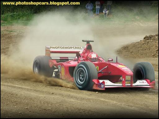 Ferrari Formula 1 rali drift