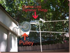 clothes line tightener
