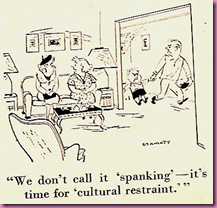 spanking cartoon