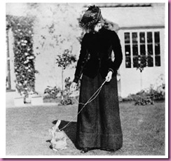 beatrix potter and her pet rabbit